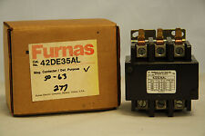 Furnas 42DE35AL Definite Purpose Contactor FL 50 RES 63 Amp 3 Pole  277 Volt