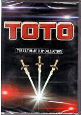"""TOTO""""The ultimate clip collection"""" 8 BIG PERFOMANCES DVD Nuovo Sigillato"""