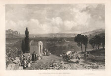 La Spezia 1833  bulino Harding