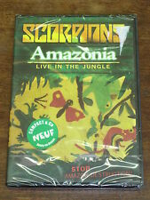 SCORPIONS Amazonia- Live in the jungle DVD NEUF