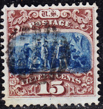 USA Scott #118 15ct Type I 1869 Pictorial XF used