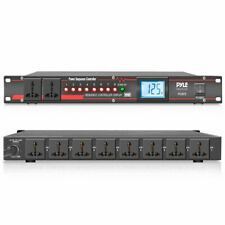 Pyle Pco875 Pro Audio Electronics Power Supply Conditioner Sequence Controller