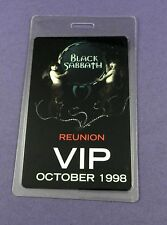 Black Sabbath Reunion Tour 1998 - VIP Tour Pass - Unused Stock !