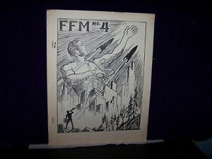 FFM #4 6/61 MENS SCI-FI SCIENCE FICTION FANZINE PULP MAG