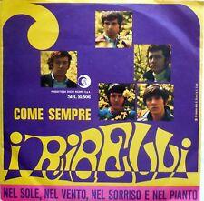 VINILE LP 45 GIRI RPM I RIBELLI COME SEMPRE SRL 10-506 ITALY 1968