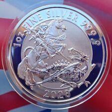 2020 British VALIANT silver BU coin .999 fine silver