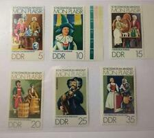 German DDR 1974 SC#1576-1581 scenes. Thuringia,Dolls' Stamps MNH ~Free Shipping~