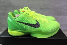 """2020 Nike Zoom Kobe 6 VI Protro Green Apple """"Grinch"""" Size 7 MENS CW2190-300"""