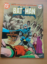 DC LIMITED COLLECTORS' EDITION TREASURY BATMAN, VOL. 6, C-51, R'AS AL GHUL, 1977