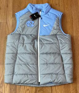 Men's UNC North Carolina Tar Heels Nike Champ Drive Vest Jacket NWT Large