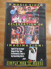 Celebration of Imagination Poster Billy Joel Ric Ocasek L L Cool J Michael Boton