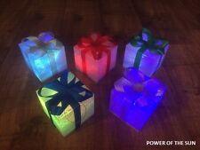 5 a LED cambia colore particelle NATALE LIGHT UP presenta / PACCHI / Decorazione