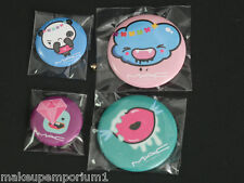 MAC QUITE CUTE COLLECTION SET OF 4 MINI COLLECTOR'S PINS