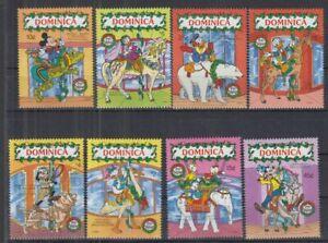 S838. Dominica - MNH - Cartoons - Disney's - Christmas - 1990