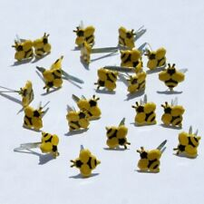 MINI BEE BRADS *  EYELET OUTLET  8 PCS    NEW JUST IN STOCK