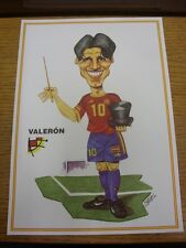 circa 2002 Spain: Valeron - A4 Printed Caricature Drawing. Thanks for viewing ou