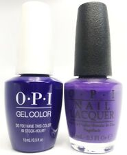 Opi Gel Polish + Nail Polish GCN47 Do You Have this Color in Stock-holm?  0.5 oz