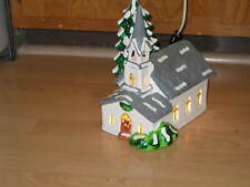 Dept 56 Snow Village Countryside Church #50583 lighted In original box!