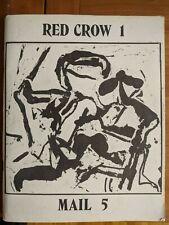 Red Crow #1 Mail #5 (1972) incl Gerrit Lansing