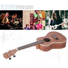"""ammoon 4 Strings 24"""" Sapele Ukulele Hot Gift for Student Beginner+Free Ship Hot"""