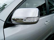 2 pcs Chrome Side Mirror Cover Covers Protector for Toyota Prado 150 2009-2017