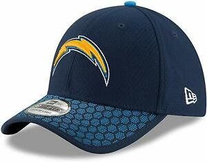 Los Angeles Chargers New Era 39THIRTY NFL Sideline Fitted Cap Hat - Size: S/M
