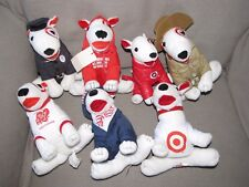 Target Bullseye Bull Terrier Stuffed Plush Lot Police Sorenson Fifty Billion