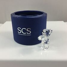 Swarovski Crystal SCS KRIS BEAR w Diamond Chaton 2013 # 5034222 NIB Genuine