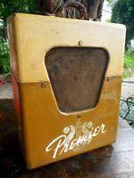 Vintage '53 Multivox Premier Model 50 Tube Guitar Amp Harp Harmonica