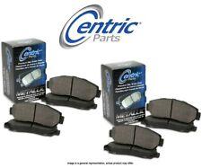[FRONT + REAR SET] Centric Parts Semi-Metallic Disc Brake Pads CT99953