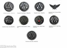 Assassins Creed Official Pin Limited Edition Collectors Set - 9 Pins - Origins