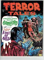 Terror Tales Vol. 4 #5 Classic Horror Magazine Eerie Publications 1972