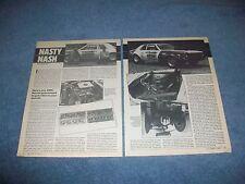 """1971 AMC Hornet SC 360 Vintage Drag Car Article """"Nasty Nash"""""""