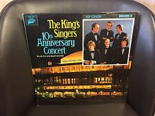 The King's Singers 10th Anniverary vol. II EX LP Live Concert MMG Classical 1978