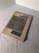 Rock-ola, Original, Jukebox, Phonograph, Model 470 160 Selection, Service Manual