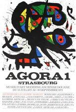 Agora 1 by Joan Miro Original 1971 Lithograph Art Print 23.5x15.5