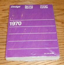 1970 Dodge Charger & Coronet Service Shop Manual 70