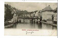 CPA Carte Postale Belgique-Namur- La Sambre avec le Pont -début 1900 VM27789
