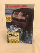 Marineland Power Filter Penguin 100 power filter Open Box