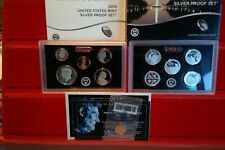 2019 United States Mint Silver Proof Set With Extra REVERSE PROOF Penny
