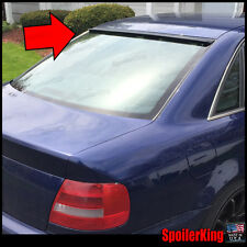 Rear Roof Spoiler Window Wing (Fits: Audi A4 1996-01 B5 4dr) SpoilerKing
