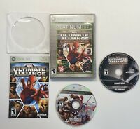 Marvel: Ultimate Alliance -- Special Edition. (Xbox 360) COMPLETE w/ Bonus Disc.