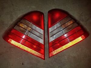Mercedes Benz Genuine OEM Bosch Tail Light Pair C220 C280 C230 C36 Nice Complete