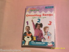 Baby Genius Counting Songs DVD Explore Learn Grow Bonus CD