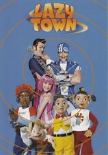 Large Publicity Card. LazyTown. + Free Sam Fox