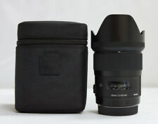 Sigma 35mm F/1.4 DG HSM Lens For Canon + Filter