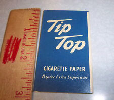 Vintage package of TIP TOP Cigarette Rolling Paper, great colors & graphics