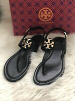 Tory Burch Bryce or Claire Thong Sandal-Black