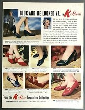K SHOES - Vintage Magazine Advert (16 May 1953) Footwear, Fashion *