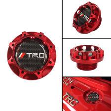 TRD RED Engine Oil Filler Cap Oil Tank Cover Aluminium For TOYOTA